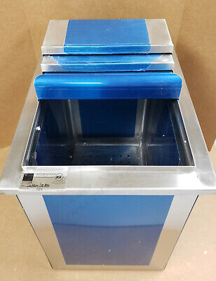 Elkay 45 Pound Ice Bin OSB10008X Stainless Steel comes as Pictured