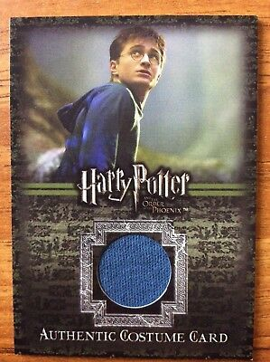 Trade Card Costume Harry Potter OotP Daniel Radcliffe 322/375