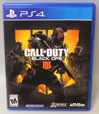 Call of Duty: Black Ops 4 (PlayStation 4, 2018) No Insert