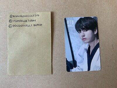 BTS World OST Album Official Jungkook Double Sided Photocard