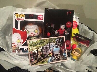 IT **PENNYWISE** Gift Basket Movie Collectibles FUNKO POP Projection Halloween
