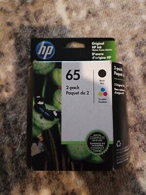Hp 65 Black & Tri Color Combo Pack Ink Cartridges Exp May 2021
