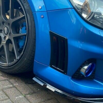 Vauxhall Opel Astra Vectra Zafira VXR style universal side bumper vent - ABS