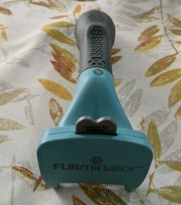 Furminator Deshedding Tool for Cats -New Release! LONG HAIR SMALL CAT NWOT
