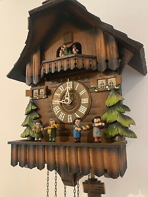 Cuckoo Clock Germany Schneider 8 Day