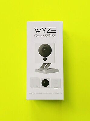 Wyze Cam V2 1080P Indoor Smart Home Camera with Wyze Sense Starter Kit Brand New