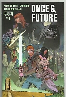 ONCE & FUTURE 1 Second Print  NM (9.4) New HOT BOOK Boom Studios