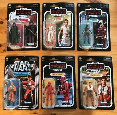 Star Wars The Vintage Collection Rise Of Skywalker Wave 1 Set Of 6 IN HAND NEW