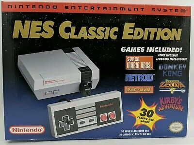 Nintendo NES Mini Classic Edition Console with 30 Games Brand New Discontinued