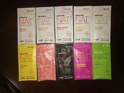 Pruvit KETO OS NAT 1, 5 Or 10 Day Experience VARIOUS FLAVORS (YOU PICK)