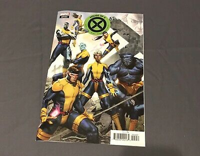 House Of X #4 Jorge Molina Connecting Variant Cover Hickman NM