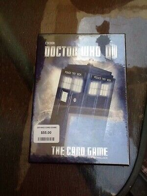 Dr Who Card Game
