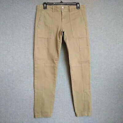 Banana Republic  Skinny Ankle Womens Pants Size 29 Stretch Patch Pockets