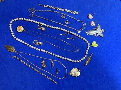 Vintage Junk Drawer Jewelry Lot Untested