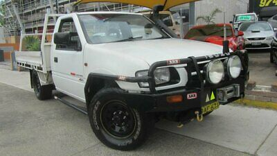 2001 Holden Rodeo TFG6 LX (4x4) White Manual 5sp M Spacecab