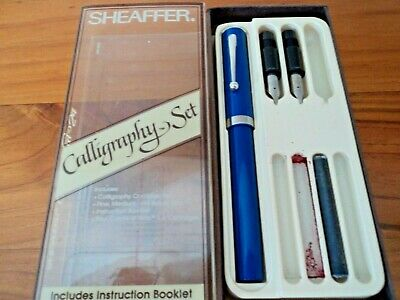 Sheaffer 'No Nonsense' Pen with 2 extra nibs in original box -  Circa 1969