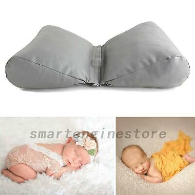 Newborn Baby Butterfly Posing Pillow Cushion Leather Photography Props AU Local