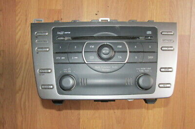 Genuine Mazda 6 Radio CD Player Stereo Head Unit 2008-12 GS1E669RXA