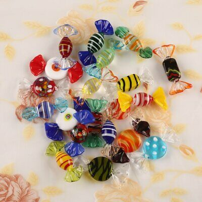 AU 20Pk Vintage Murano Glass Sweets Wedding Xmas Party Candy Decorations Gift