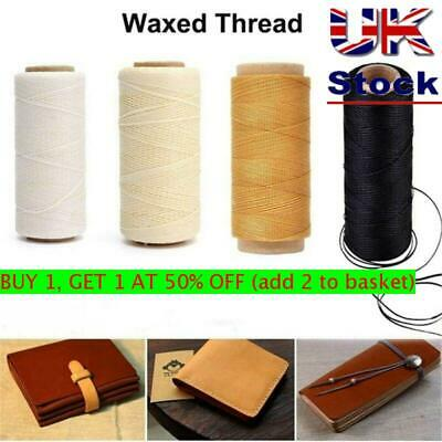 30m/roll 150D Waxed Thread Sewing Line for Leather Handicraft Tool Durable