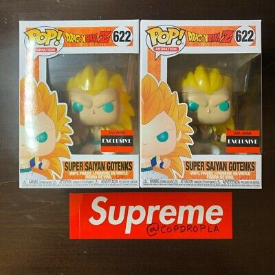 Funko POP Anime Dragon Ball Z SUPER SAIYAN GOTENKS #622 (AAA ANIME EXC) Vinyl
