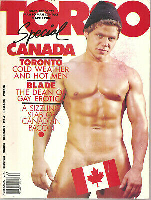 TORSO magazine gay - Marsh 1984