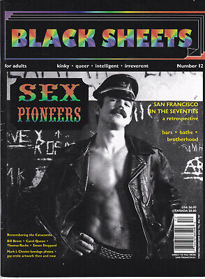 BLACK SHEETS - magazine gay - number 12