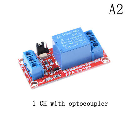 5V 1 Channel Relay Board Module With Optocoupler LED for Arduino PiC ARM AVR LES