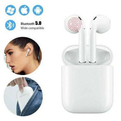 i12 TWS Wireless Touch 5.0 Bluetooth Earphone Earbuds Airpods For iPhone Android