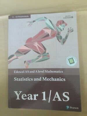 Edexcel AS and A level Mathematics Statistics & Mechanics Year ... 978129223