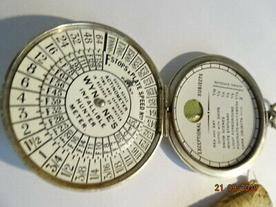 Vintage  Wynne's  Infallable Hunter  Exposure Meter With Pouch