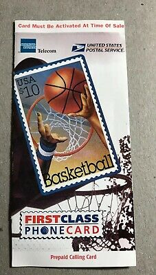 1997 USPS Basketball Stamp Phone card