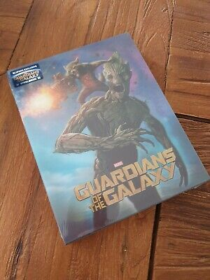 Blu Ray Steelbook Blufans Guardians Of the Galaxy New And Sealed
