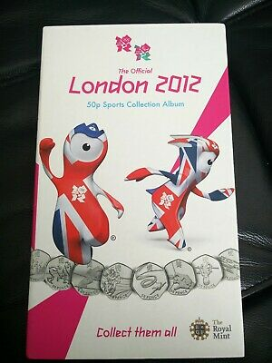 london olympic 50 p coins full set