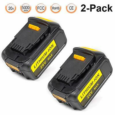 LENOGE 20V 5.0Ah Lithium Replacement Power Tool Battery for Dewalt Max XR DCB...
