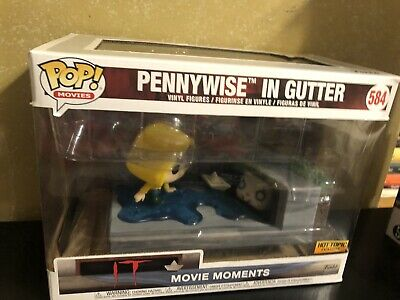 Funko Pop Pennywise in Gutter Hot Topic exclusive Movie Moments It 584