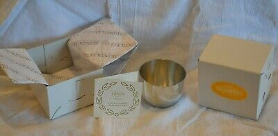 Jefferson Cup Pewter Monticello In Original Box Never Used Kirk-Stieff/Lenox