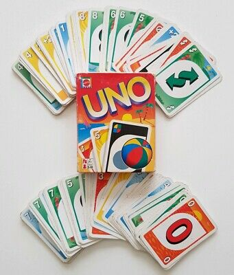 UNO • Special Summer Edition Of The Popular Card Game • Mattel Games