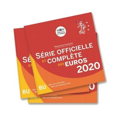 Brilliant Uncirculated coin set France 2020