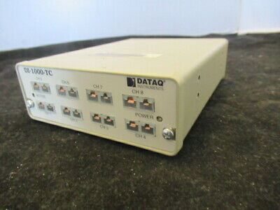 DataQ Instruments  Thermacouple Data Acquisition Model DI-1000-TC # 5849 X