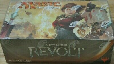 Magic: The Gathering Aether Revolt Factory Sealed Booster Box MTG English