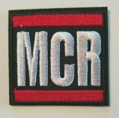"""My Chemical Romance~MCR~Embroidered PATCH~@ 2"""" x 2""""~Iron or Sew On~Collect"""