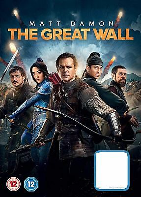 The Great Wall [2017] [DVD]- Region 2