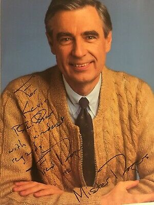"Fred Rogers (""Mr. Rogers' Neighborhood"") Signed Photo TV Host"
