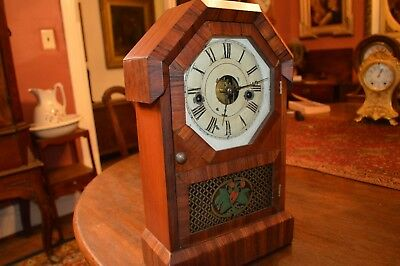 Shelf Clock, Seth Thomas Pre-1865 Lyre Movement