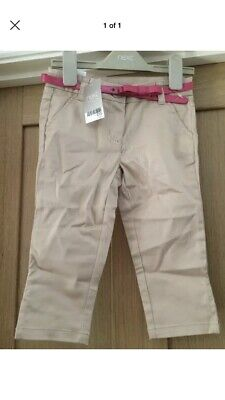Next Girls Cropped Trousers Age 5 BNWT
