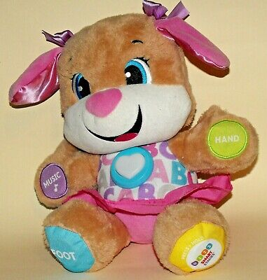Fisher Price Laugh & Learn Smart Stages Sis 6-36 months Educational Plush Toy