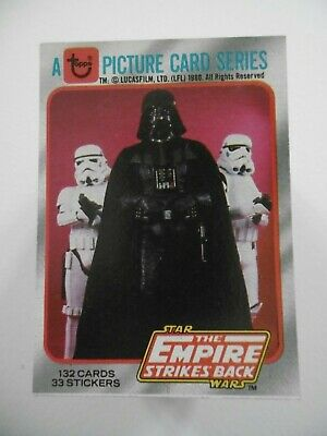 Topps Star Wars Empire Strikes Back Trading Card Set Series 1 + Wax Wrapper Set