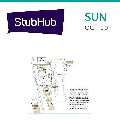 PARKING PASSES ONLY New Orleans Saints at Chicago Bears Tickets - Chicago