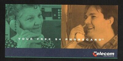 Telecom Australia 1994 Social Security Free $4 Phone Card - Unused
